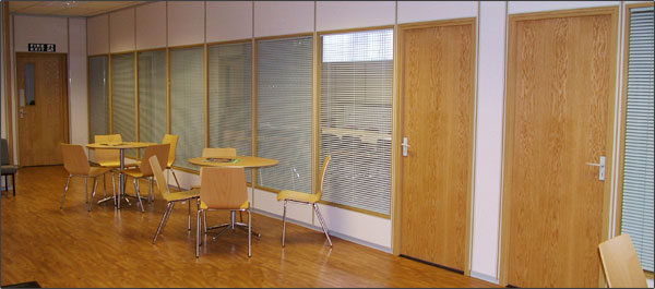 Trimline Office Partitions and Partitioning Systems - Northeast based.